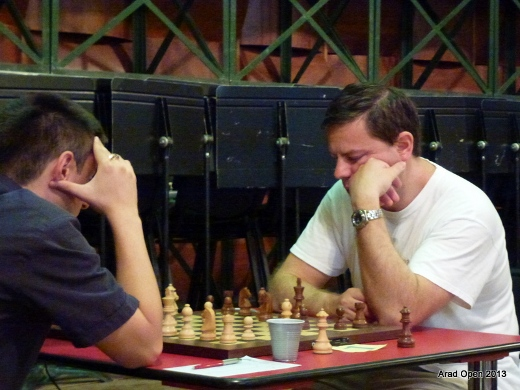 Vadim Shishkin during his fifth round game