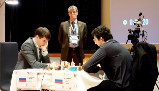 World Chess Cup Kramnik - Andreikin 1