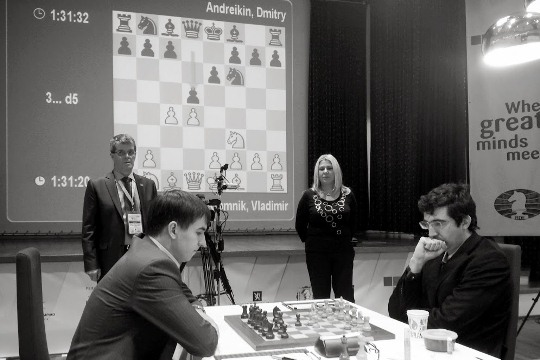 World Chess Cup Kramnik - Andreikin 2