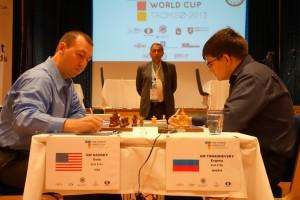 Tomashevsky goes on to the next round, Kasmky eliminated