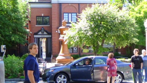 Chess Hall of Fame across the street from St. Louis Chess Club
