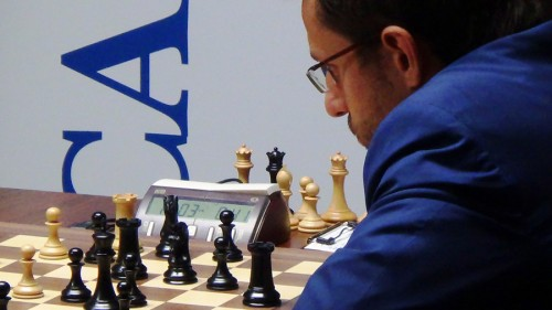 Aronian in an attempt to go home with something more