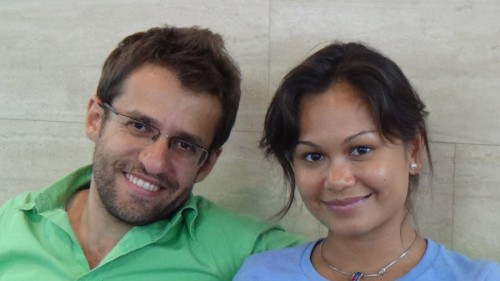 Finally, a stroke of luck.  I happened to run into Aronian and Caoili at the St, Louis airport and had a half-hour to talk!  They were both extremely open and friendly