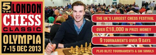 5th London Chess Classic graphic