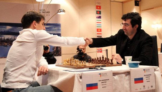 2013 World Chess Cup Final, Dmitry Andreikin - Vladimir Kramnik