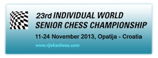 FIDE World Senior Championships 2013