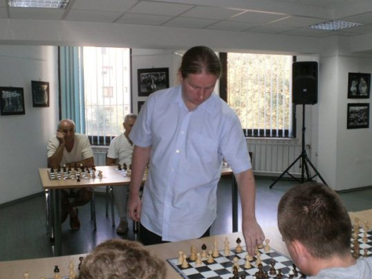 GM Liviu-Dieter Nisipeanu in Baia Mare