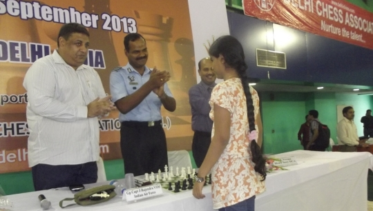 Inauguration (Shri. Bharat Singh, Gp Capt J Rajendra, Shri. AK Verma and Priyanka Nutakki)