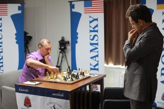 Kamsky - Aronian