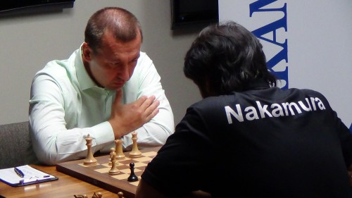 Kamsky is focused on trying to win at least one game