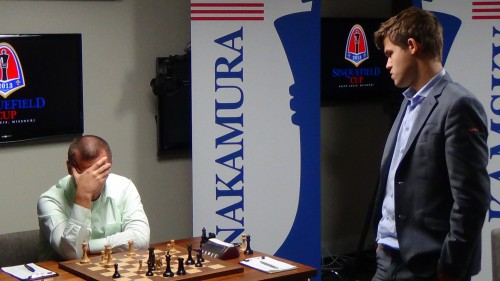 Looks like all I need is a draw, thinks Carlsen