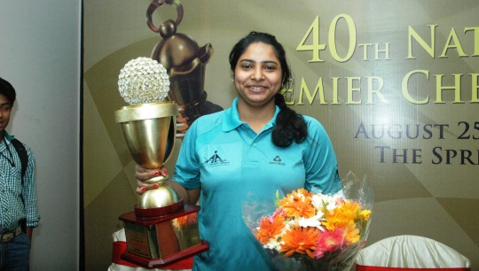 Mary Ann Gomes Wins India Premier Chess Championship