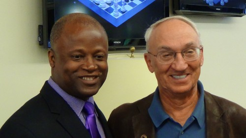 Maurice Ashley and Rex Sinquefield