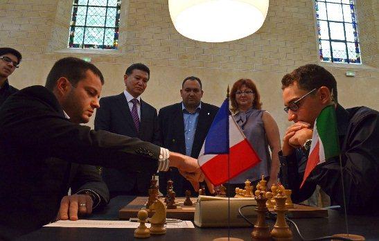 Paris FIDE Grand Prix r1 Bacrot - Caruana