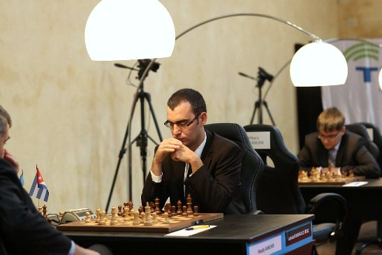 Paris FIDE Grand Prix r1 Leinier Dominguez