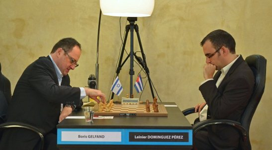 Paris FIDE Grand Prix r3 Gelfand Boris - Dominguez Perez Leinier