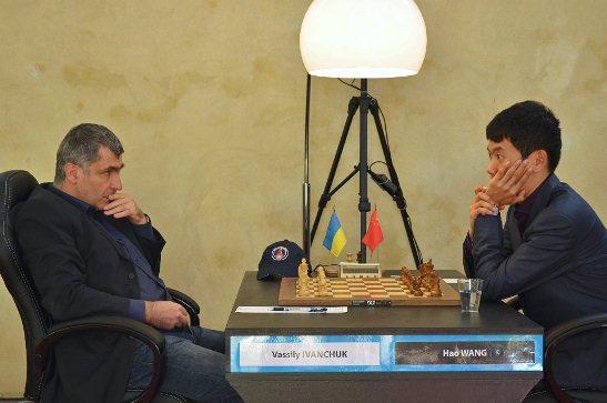 Paris FIDE Grand Prix r3 Ivanchuk Vassily - Wang Hao