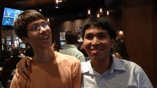 Ray Robson and Wesley So are good friends and both were in Saint Louis