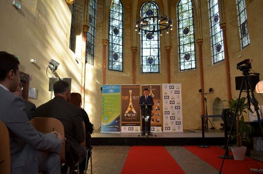 Speech by FIDE President Kirsan Ilyumzhinov