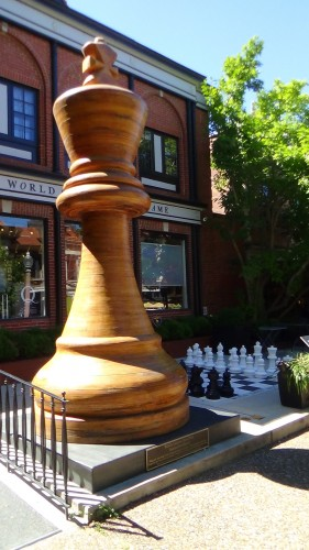 The World's Tallest Chess Piece