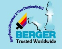 Berger Paints 39th National Chess Championship-2013
