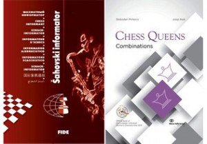 "Chess Informant 118 comes with a present - the book ""Chess Queens - Combinations"""