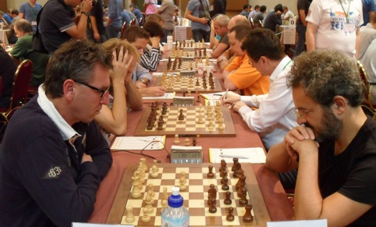European Chess Club Cup - Round 3 Photos