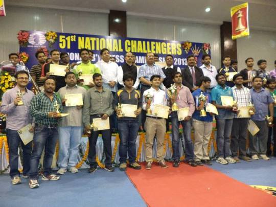 IM Thejkumar M.S of Railways became National Challengers Champion
