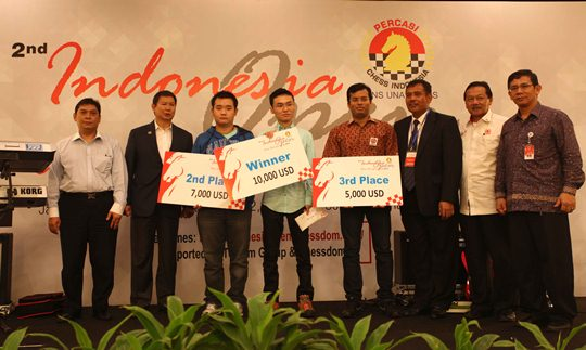Indonesia Open 2012 - winners