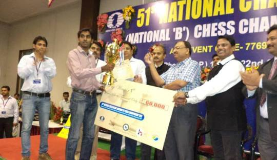 National Challengers Chess Championship 2013 Thej Kumar