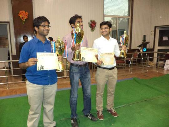 National Challengers Chess Championship 2013 winners
