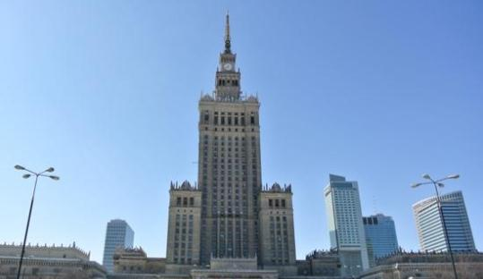 The Palace of Culture and Science Warsaw