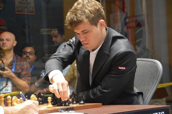 Anand - Carlsen game 2 1