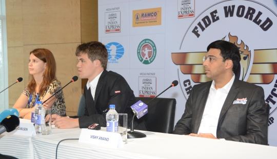 Anand - Carlsen game 2 7