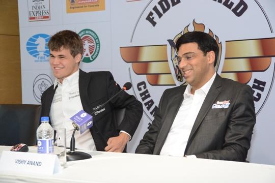 Anand - Carlsen game 2 8