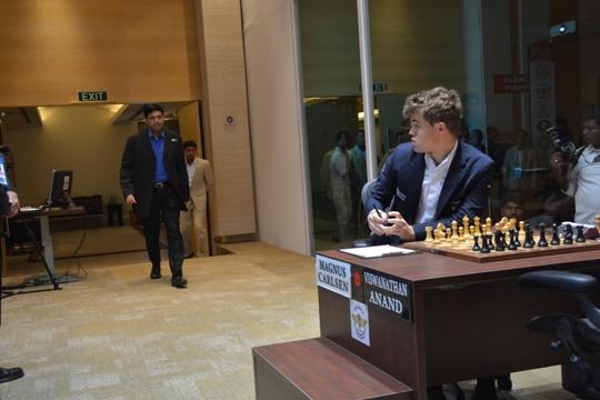 Anand - Carlsen game 5