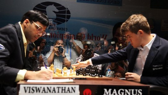 Anand - Carlsen