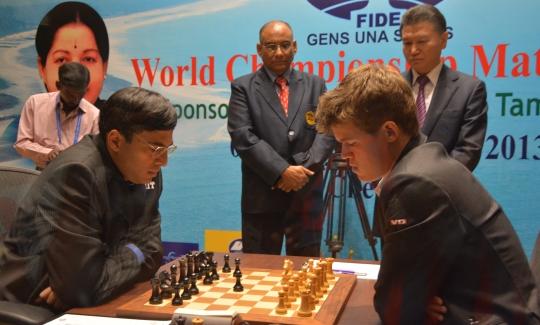Carlsen - Anand game 1