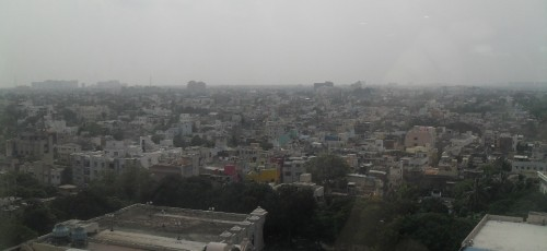 Chennai from the 6th floor