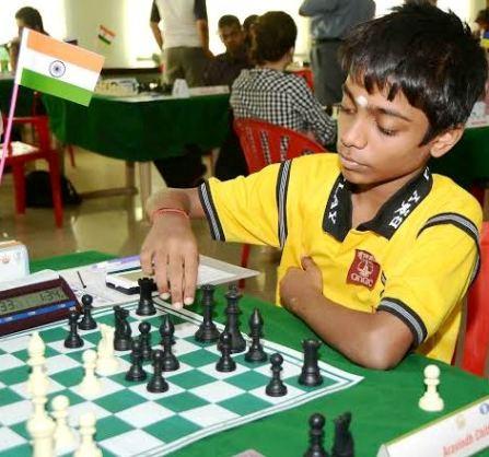 FIDE Master Aravindh Chithambaram