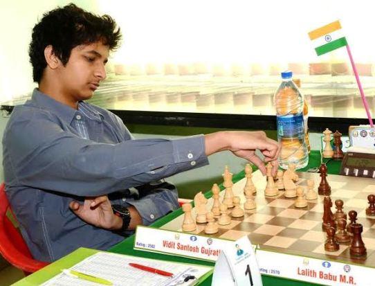 Grandmaster Vidit Santosh Gujrathi