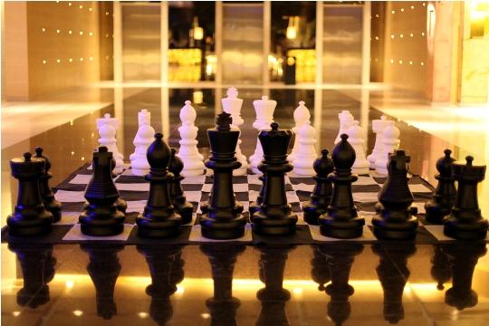 Magnus Carlsen arrived to Hyatt Regency