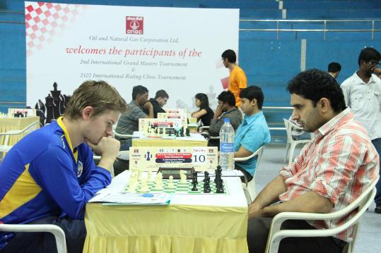 Match between Vasily Papin and Shivananda BS