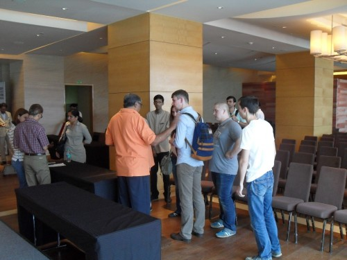 Media room is also being arranged