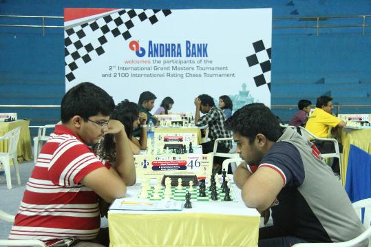 Players in action in category A
