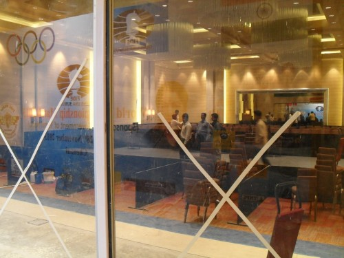 The soundproof glass