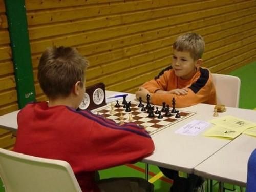 Carlsen at age 11