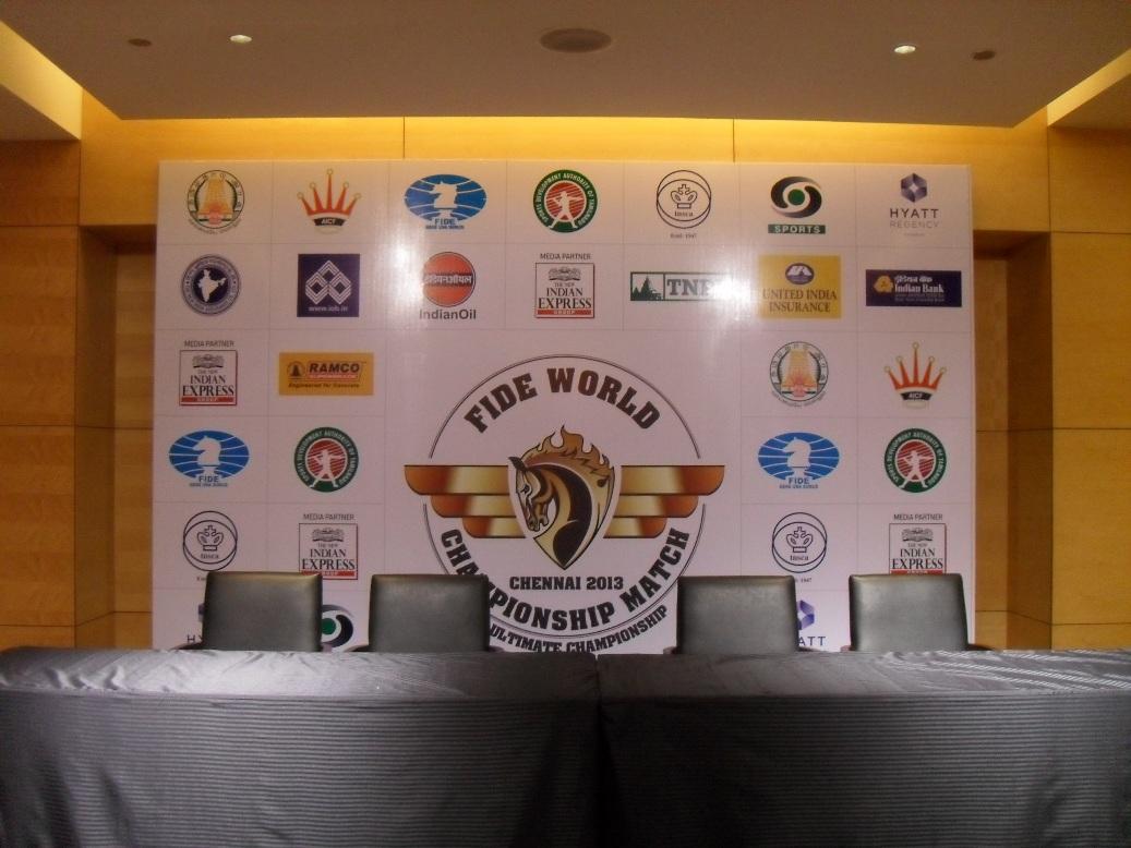 World Chess Championship 2013 Opening Day Live Chessdom