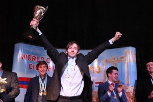 Grischuk triumphs for the third time as champion with Russia
