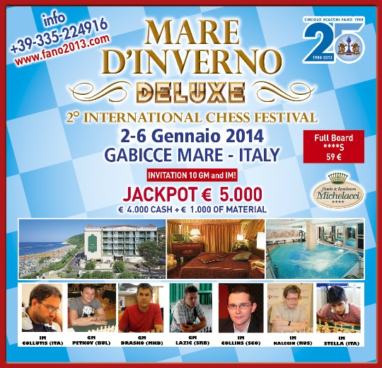 2nd Winter Sea Deluxe Open in Gabicce Mare